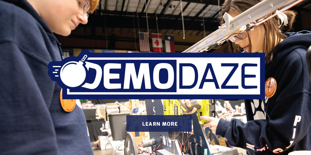 2021 BEST Demo Daze Programs Banner