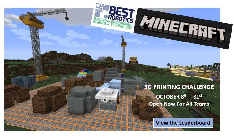 BEST Robotics Minecraft Challenge